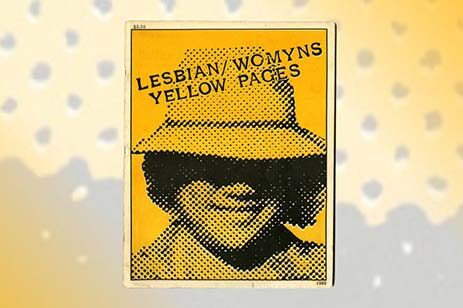 Yellow toned image of a woman in a hat, smiling.