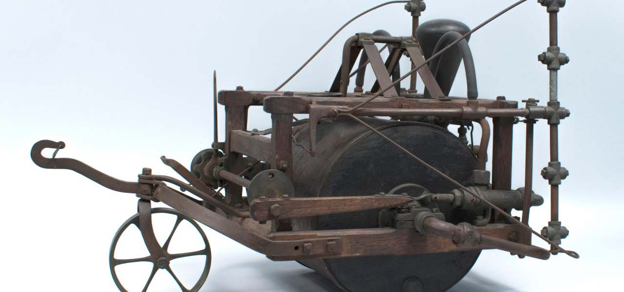 Old iron farming invention.