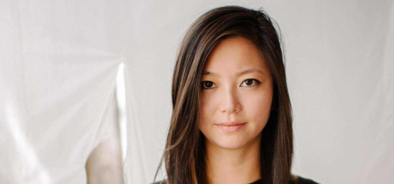 Photographic portrait of an Asian-American woman.