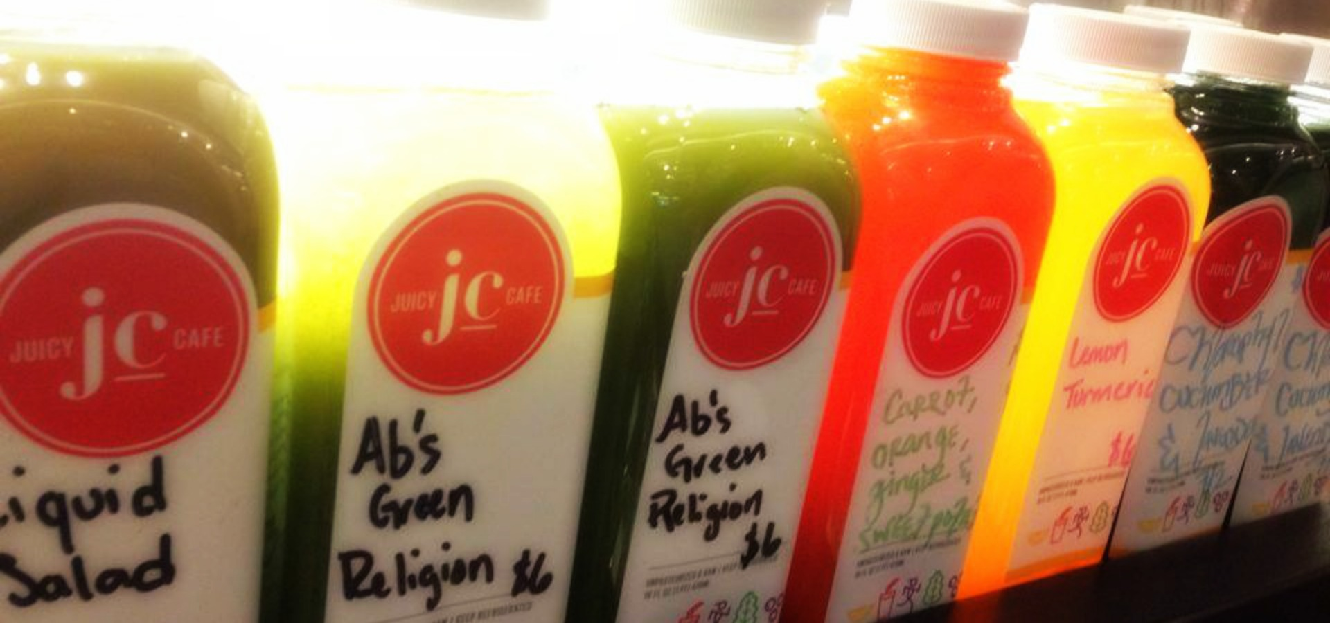 Image of bottles of juice