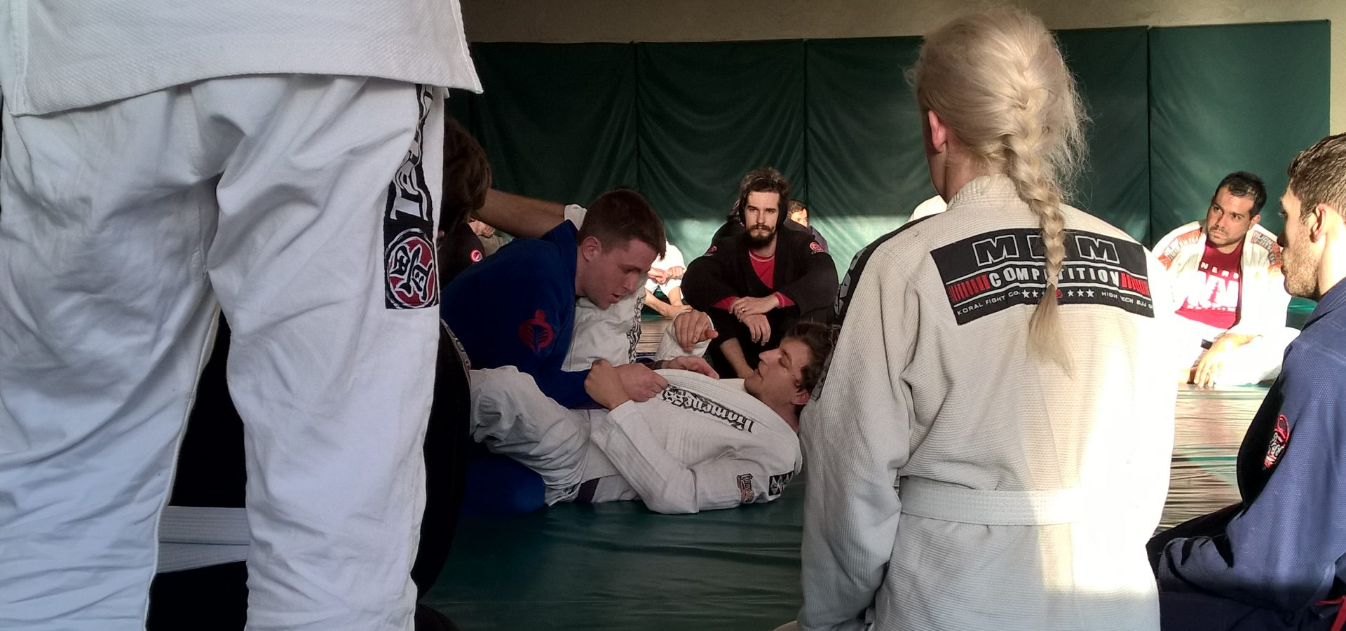 Image of BJJ class