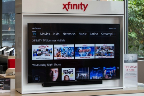 Xfinity product display
